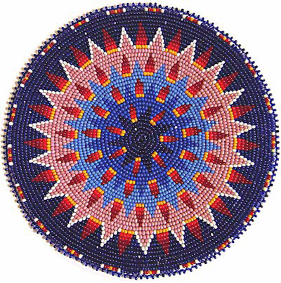 Native American Beaded Rosette Patterns http://w.kqdesigns.com/rosette13.htm
