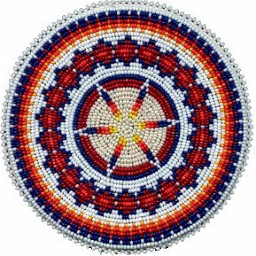 Native American Beaded Rosette Patterns http://w.kqdesigns.com/rosette9.htm